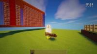『米米』我的世界‖1.8原版命令方块介绍<战争坦克> 米米造了个BUG坦克!