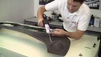 高端汽车改装 手工碳纤维车头盖完整过程(3-3)_超清