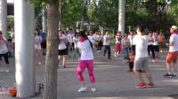 拉丁 广场舞20 - 北京 奥森公园 南门外 160529