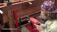 24_40 Installing Hanging Roubo Bracket • WELDING for WOODWORKERS