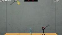 TIGA解说小游戏火柴人打羽毛球