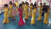 少儿肚皮舞班鼓舞课堂练习(重庆石柱舞魅舞蹈培训咨询电话15923755533)