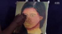 【FUN广州绘画工作室】如何快速画一幅女性肖像油画