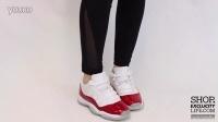 Women's BG Air Jordan 11 Low Retro 'Varsity Red' 上脚欣赏