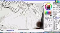 日韩风的绘画技术交流课《第二讲:跟我一起学线稿》