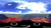 雪佛兰corvette漂移360全景