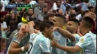 梅球王脚法会传染,中超头牌终开和,阿根廷3:0玻利维亚