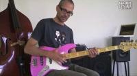 2. Slap bass lesson