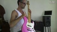 3. Slap bass lesson