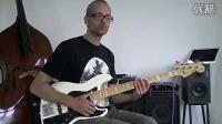 1. Slap bass lesson
