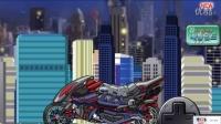 动画片 拼装机械模型 机械恐龙组装机械喷火龙