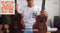 LEHO贝壳尤克里里小吉他乌克丽丽LHUC-MM音色试听老工匠乐器.mp4