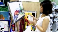 【广州FUN绘画工作室】绘画玩出七彩好心情