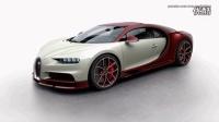 2016 Bugatti Chiron各种车身颜色展示_标清