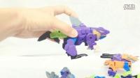 变形金刚!六神合体海洋霸主 亲子早教 亲子游戏 【梁臣的玩具说】29