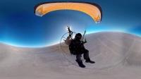 飞行降落伞,自由天空