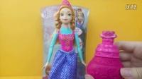 冰雪奇缘 会变色的安娜公主 迪士尼 玩具