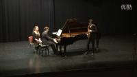 姜汉超 勃拉姆斯第一单簧管奏鸣曲 第一乐章 (萨克斯版)