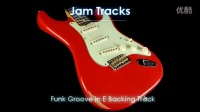 Funk Groove in E Backing Track-