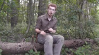 Bushcraft and Survival, Indian Fishing Hook made from pine, Wilderlore