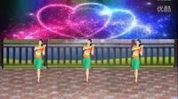 阿娜广场舞【幸福因为有你】背面