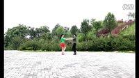 刘玫广场舞《长发飘香》三步踩