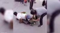 假乞丐被现场揭穿过程