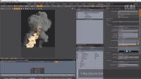 V-Ray for MODO - 体积栅格火焰与烟