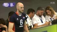 2016世界男排联赛第二组四强赛土耳其vs荷兰比赛录像