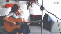 清新女生吉他弹唱我的少女时代-小幸运【比优音乐】