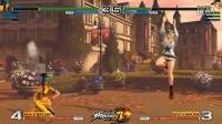EVO 2016《拳皇14》-  Alice, Zarina, Geese Footage