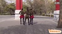 北京水兵舞第六套(一拖二)完整教学口令分解_高清