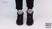 Air Jordan 5 Retro -Metallic- AJ5 黑银 上脚欣赏
