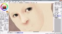 CG插画第二篇面部与头发基本上色