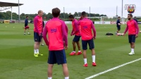 【梅西中文网】1617赛季巴塞罗那训练视频-梅西归队(2016.7.26)