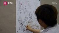 学艺宝美术专业教学视频—速写教学(默写三部曲)