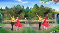 赣州快乐绽放艺术团《蓝桥汲水》三步踩.习舞:雨中悦.其实