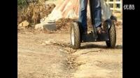 DIY自制SEGWAY赛格威两轮自动平衡车思维车测试 代步电动车_标清