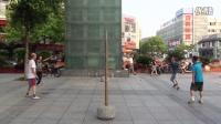 2016.7.28慈溪浒山步行街竞技柔力球活动双打01015