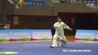 2016年全国武术套路锦标赛 男子太极剑  陈洲理(福建)第一名