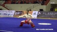 2016年全国武术套路冠军赛(传统项目)女子八卦掌  李建芳(云南)第一名