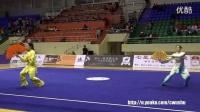 2016年全国武术套路冠军赛(传统项目)女子传统太极器械005 杜昊滢(广东)第一名 刘芳芳(福建)第三名