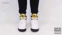 Air Jordan 5 Retro -Metallic Gold Coin- AJ5 金牌 上脚欣赏