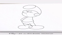 01_How to draw Papa Smurf