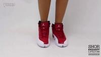 Women's BG Air Jordan 12 Retro Gym Red 上脚欣赏