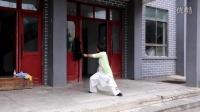 陈家沟太极拳学校陈氏四雅——太极澜唐英演练陈拳28式太极扇