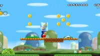 (小Q解说) 新超级马里奥兄弟Wii newer版全收集第B世界(大小不匀)