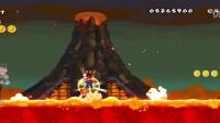 (小Q解说)新超级马里奥兄弟Wii newer版第八世界上(坦克飞船就没有不难的)