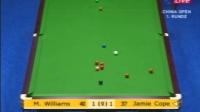 FRI.TV - China Open 2007 - R1 - Mark Williams VS Jamie Cope Frame 1-6