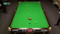FRI.TV -  Champion League 2013 - G1 - Carter vs Stevens 1-3